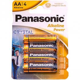 Батарейка Panasonic AA LR6 по 4шт Alkaline Power P-049500/055815