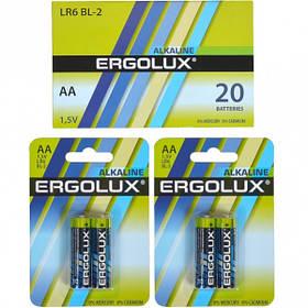 Батарейка Ergolux AA LR6 BL-2 Alkaline E-870976