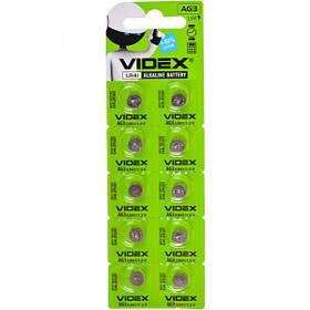 "Батарейка Videx ""таблетка"" AG 3 V-291727"
