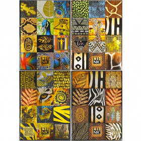 "Блокнот А5 ""Мандарин"" 80 листов, интегральная обложка, метал. 202105/17108-17111/БК64"