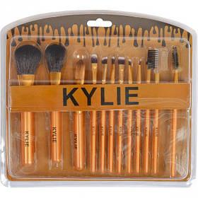 Набір кистей для макіяжу 12 штук KYLIE X1-03/980088