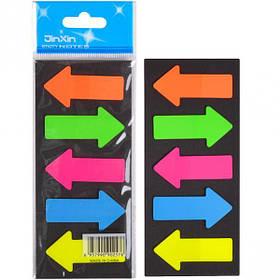 """Закладка неон 5 кольорів """"stick Notes"""" Р06-1"""