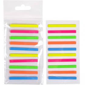 """Закладка неон 5 кольорів """"stick Notes"""" Р44-4"""