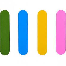 Пилка полірувальна БАФ міні набір 4 шт для нігтів 9*2*0,8 см 000147