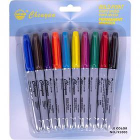 Набір маркерів 10 кольорів 95000-10