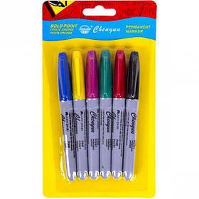 Набір маркерів 6 кольорів 95000-6