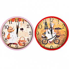 """Настінні годинники Х2-42 """"Шеф-Кухар"""" 29,5*4см"""