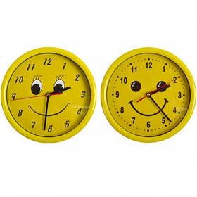"""Настінні годинники Х2-36/8881 """"Смайл коло"""" 22*4см"""