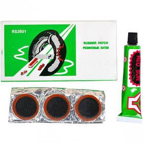 Гумові латки + клей X4-107/RS3601