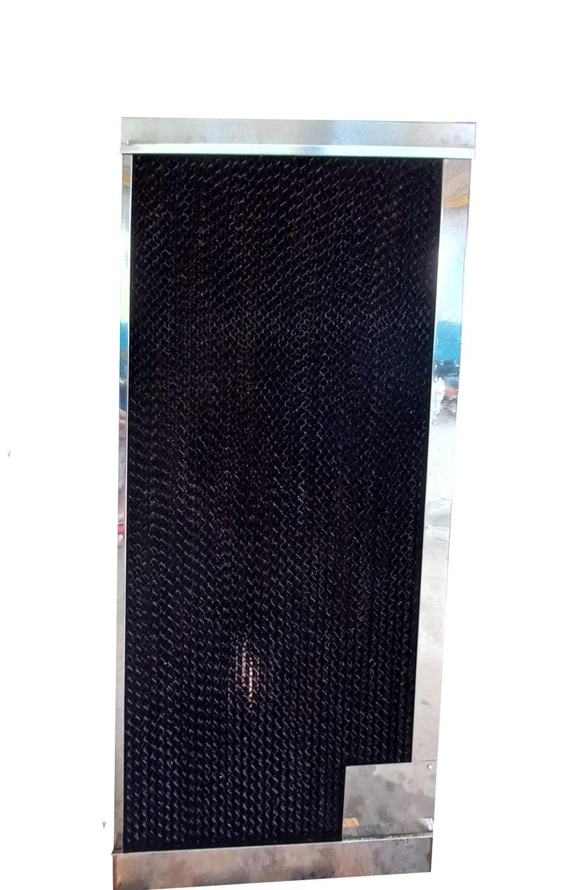 Паперова охолоджуюча панель(випарний водяний охолоджувач) для крільчатника, пташника, теплиць 63х15х155 див.