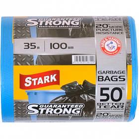 Пакет для сміття надміцний 48х58 35л 100 штук TM STARK