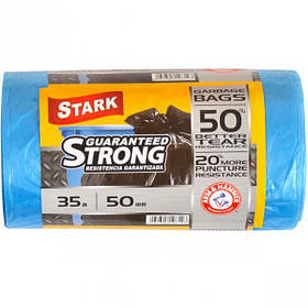 Пакет для сміття міцний 48х58 35л 50 штук TM STARK 5002