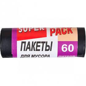 Пакет для сміття 60х80 60л 10 штук Super Luxs/PACK
