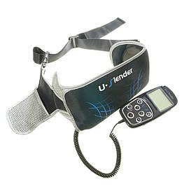 Тренажер для преса U-SLENDER, міостимулятор для м'язів з таймером, електричний масажер 10 режимів