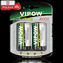 Батарейка Vipow - Accu (BAT0064B) D (2 шт. / блистер)