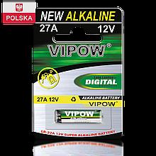 Батарейка Vipow - Accu (BAT0068B) LR27A (1 шт. / блистер)
