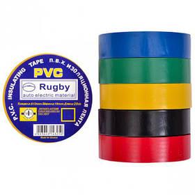 "Ізолента PVC 20 ""Rugby"" асорті Х4-15/20-2"