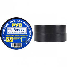 "Ізолента PVC 20 ""Rugby"" чорна Х4-13/20-1"