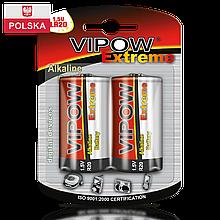 Батарейка Vipow - Extreme (BAT0094B) D (2 шт. / блистер)