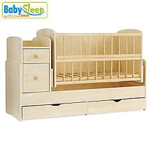 Ліжечко-трансформер Baby Sleep (Angela) DTP-S-B, Naturholz