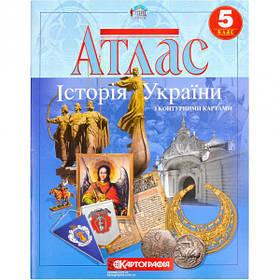Атлас: Історія України 5 клас 1608