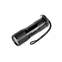 Ліхтарик Vipow (URZ0060) 9 LED, чорний