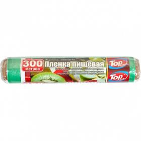 Плівка харчова 29см 300м 7мкм (POL) Top Pack зелена