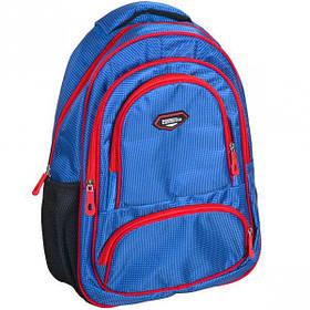 """Рюкзак California M """"Синій з червоним"""" 42*29*13см 980504"""
