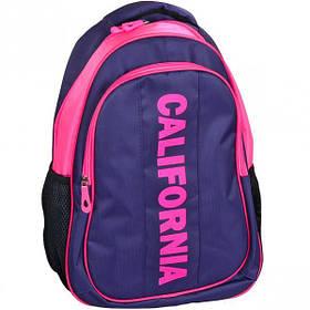 """Рюкзак California M """"Фіолетовий з рожевим"""" 42*29*13см 980513"""