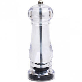Ручная мельница пластик прозрачная 18*6*6 см X3-216