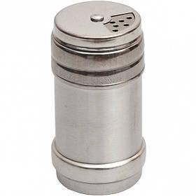 Солонка - спецовница металлическая 80мл