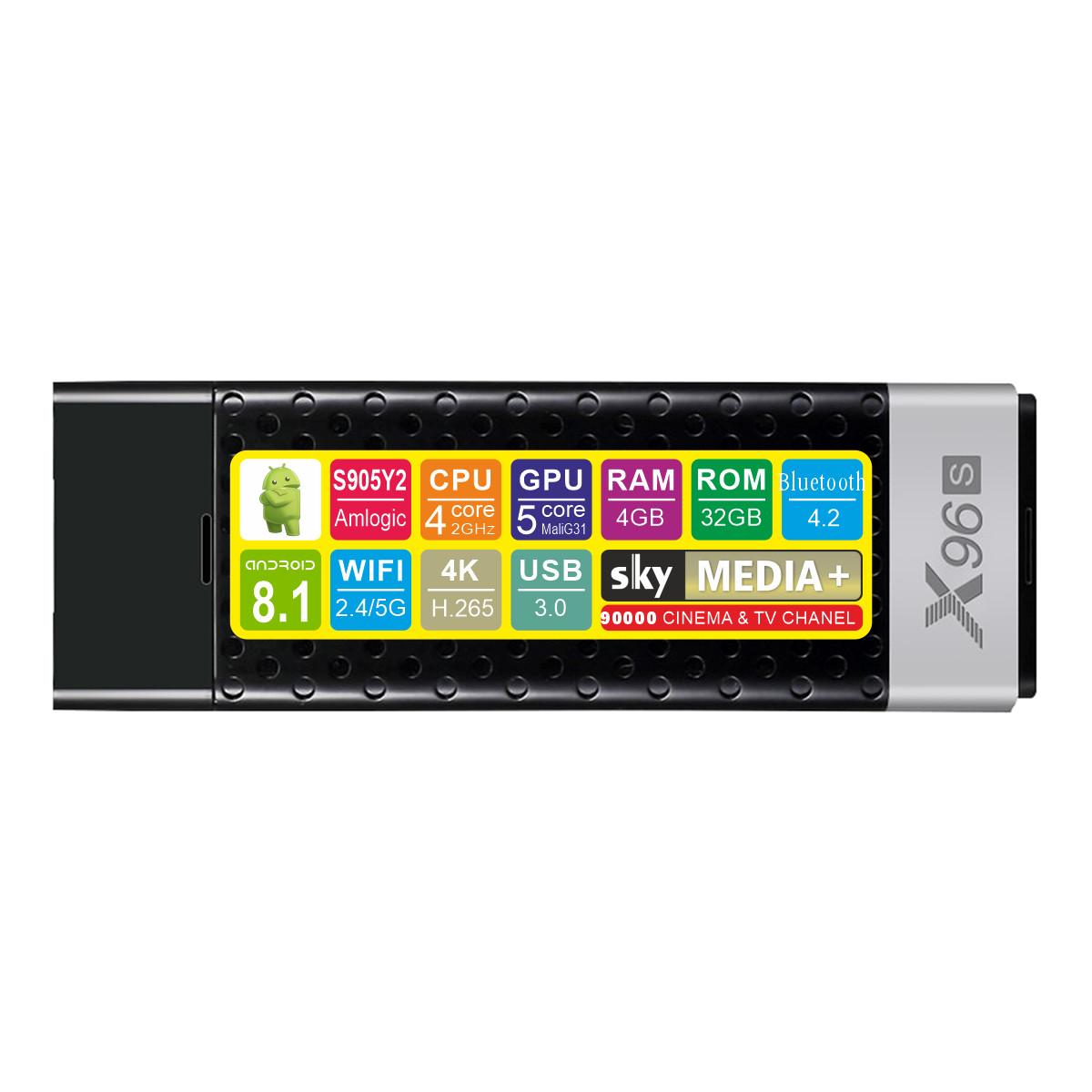 Android TV приставка SKY (X96S) 4/32 GB
