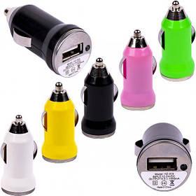 Автомобильный 1-USB адаптер 1.0 А 5/HZ-008