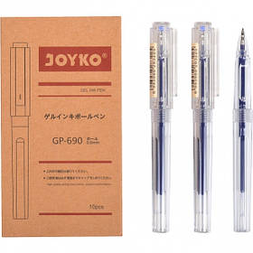 Ручка гелева GP-690 JOYKO 10 штук, синя