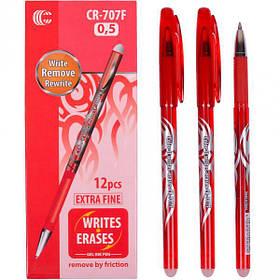 """Ручка """"З"""" """"пише-стирає"""" червона CR-707F"""