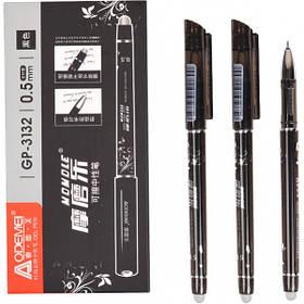 """Ручка """"пише-стирає"""" 3132 чорна"""