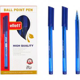"Ручка масляна ""Ellot"" ET607 синя"