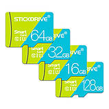 Карта пам'яті microSD Premium STICKDRIVE (GB U3064) 64 GB, class U3, фото 2