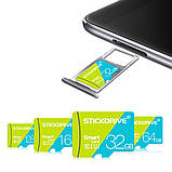 Карта пам'яті microSD Premium STICKDRIVE (GB U3064) 64 GB, class U3, фото 4