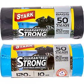 Пакет для сміття міцний 70х110 120л 10 штук TM STARK 5008