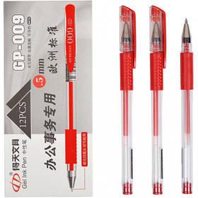 Ручка гелева GP-009 червона