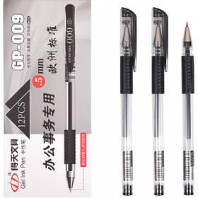Ручка гелева GP-009 чорна