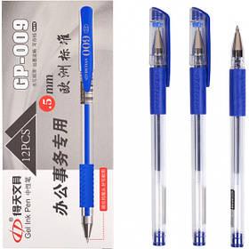 Ручка гелева GP-009 синя