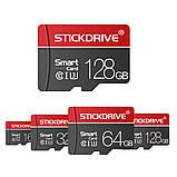 Карта пам'яті microSD Ultra STICKDRIVE (RG U3064) 64 GB, class U3, фото 3