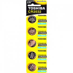 """Батарея Toshiba """"таблетка"""" CR 2032 588907/60152703"""