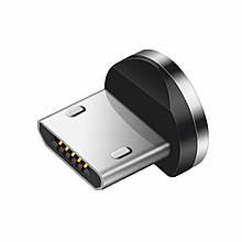 Магнитный коннектор USAMS micro USB (R/L Connect) для зарядки (1pin)