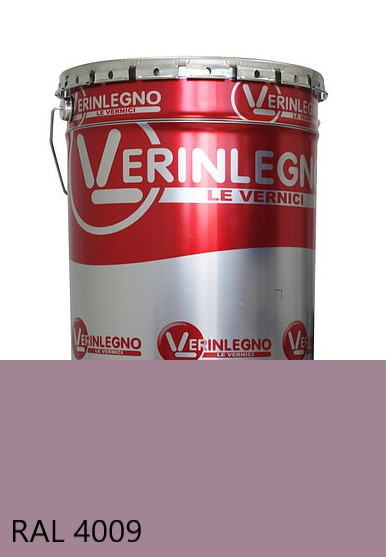 Фарба поліуретанова для меблів Verinlegno Італія, Колір RAL 4009, двокомпонентна