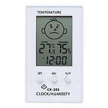 Цифровой термометр-гигрометр SKY (CX-201) с LCD дисплеем