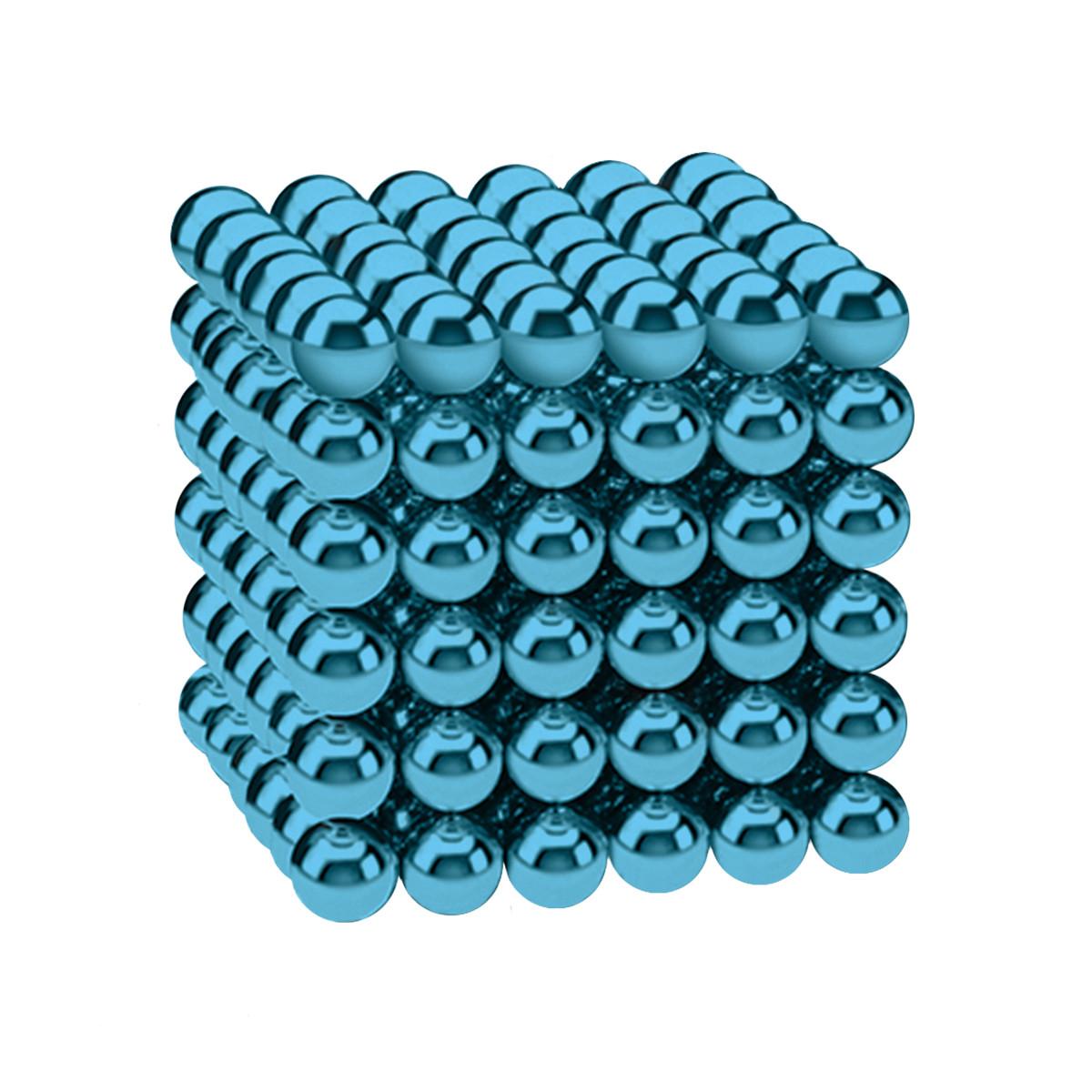 Магнитные шарики-головоломка SKY NEOCUBE (D5) комплект (216 шт) Sky Blue