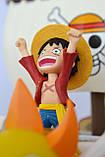 Фигурка One Piece - Monkey D. Luffy & Thousand Sunny - Mega World Collectable Figure Special!!, фото 3